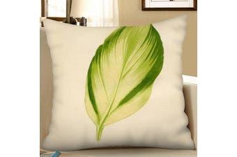 Digital Printing Sofa Cushion Pillowcase- Pistachio Green W18 x L18 inch