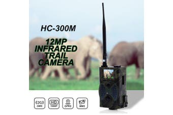 Outlife HC300M Digital Scouting Hunting Camera 2G MMS Email GPRS GSM 940NM Infrared Night Vision- Army Green