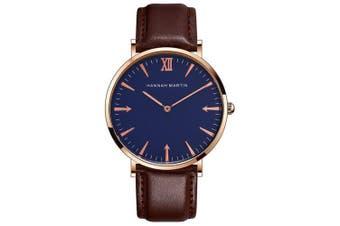 Hannah Martin Fashion Casual Personality Design Belt Men's Watch- Multi-F