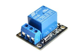 5V Relay 1 Channel Relay Module- Black