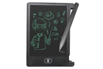 4.4 inch Digital LCD Writing Tablet High-definition Brushes Handwriting Boar- Black