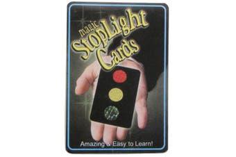 Magic Stop Light Cards Trick Toy Prop Set- Black