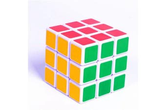 ABS Ultra-Smooth Professional Speed Magic Cube Puzzle Twist Toy- colour