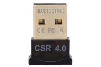 USB Bluetooth 4.0 Low Energy Micro Adapter Dongle- Black