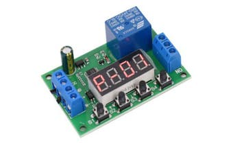 Delay Power-on Disconnect Time Relay Module- Green Onion 24V
