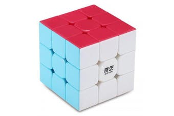 QiYi Warrior W 3 x 3 x 3 Speed Magic Cube Puzzle Finger Toy- Colorful