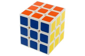 Speed Cube 3 x 3 Smooth Magic Cube Puzzles Toys- Colormix