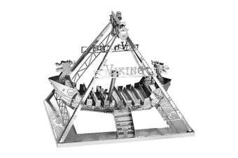 Creative Metal 3D Corsair Jigsaw Puzzle- Silver