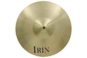 IRIN 14 inch Hi-hat Cymbal Brass Accessory for Drum Set- Copper Color