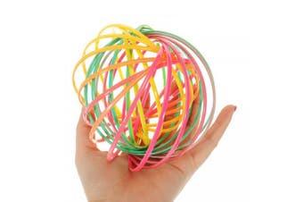 Rainbow Flow Rings Magic Bracelet Creative Toy- Multi