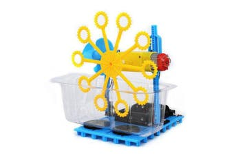 Small Hammer STEAM DIY Bubble Blister Robot Machine Educational Kit- Blue