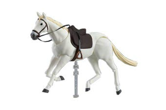 15CM Archetype Horse Ferrite Figma Body Chan Movable Action Figure Toy- White