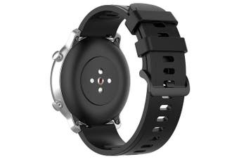 20mm Universal Replacement Wristband Watch Strap for Amazfit GTR / GTS / BIP / BIP Lite- Black