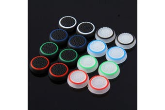 Wearable Controller Accessory Kits Button Caps for PS4 / XBox One - 16pcs- Colormix