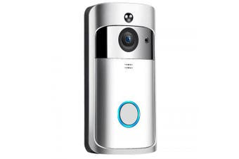 M3 Wireless Camera Video Doorbell Home Security WiFi Smartphone Remote Monitoring- Silver