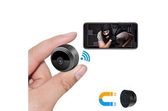 HD WiFi Wireless Infrared Night Vision Outdoor Motion Detection Remote Monitoring IP Camera Home Security System- Black