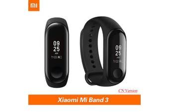 Xiaomi MI Band 3 Smart Tracker Heart Rate Monitoring Sports Watch Smart Wristband Watch- Black Other China