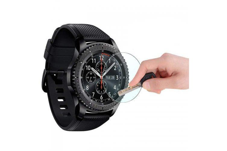 Tempered Glass Screen Protector for Samsung Gear S3 Classic Frontier 2pcs- Transparent