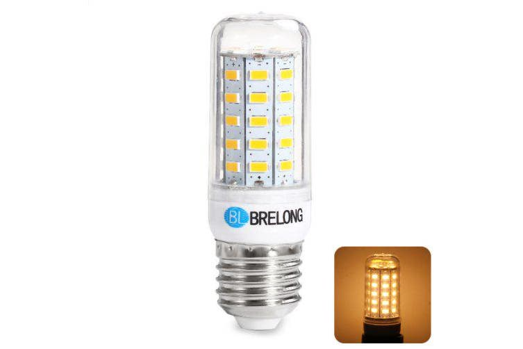 BRELONG E27 9W 5730 1100Lm LED Corn Bulb- Warm White Light