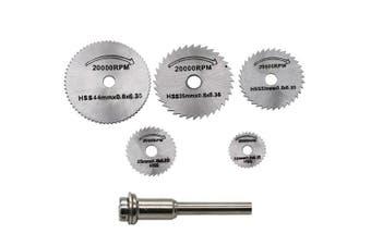 High-speed Steel Cutting Saw Set- Silver