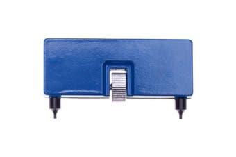 Adjustable Watch Opener Remover Repair Watchmaker Tool Watch Case Back Opener- Blue