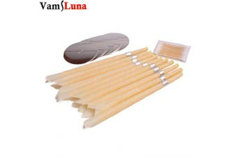 100X Smoke Free Natural Beewax Ear Candle Ear Waxing Cone Without Pesticide Residue- China
