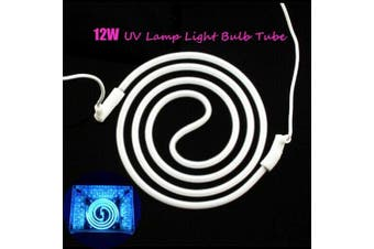 12W CCFL LED UV Spiral Tube for Led Nail Lamp Replacement Bulb for UV Gel Machine Nail Dryer- China
