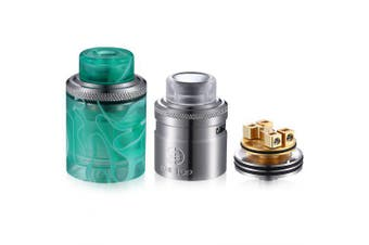 Onetop Gemini RDTA 26.5mm Electronic Cigarette Atomizers- Green