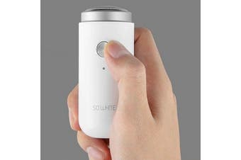 Soocas ED1 Mini Pocket Deep Clean Electric Shaver IPX5 Waterproof from Xiaomi youpin- Milk White