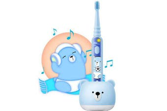 DR.BEI K5 Kids Sonic Electric Toothbrush- Sea Blue
