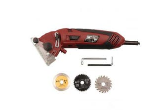D2019102603 Multifunctional Mini Metal Saw Household Repair Machine- Red Wine EU Plug