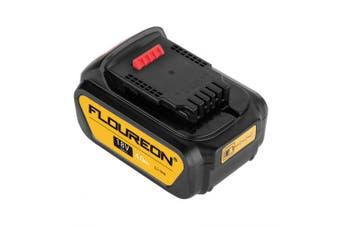 FLOUREON 18V 4000mAh Li-ion Battery compatible with DEWALT DCB200 DCB181 DCB182 DCD780 DCD785 DCD795- United Kingdom