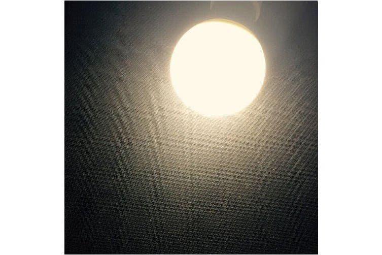 EXUP 5PCS 9W E27 Globe Bulb 5730SMD 85-265v- White 6000-6500K