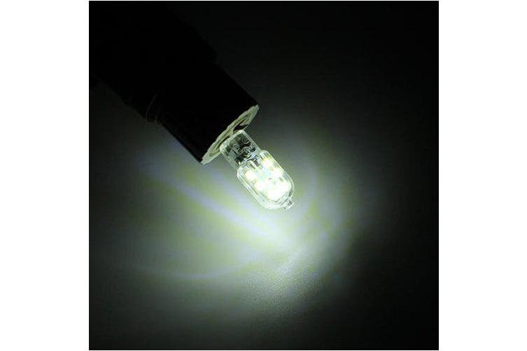 12-LED G4 2W Energy-saving Bulb for Home DC12V- Transparent DC12VWhite