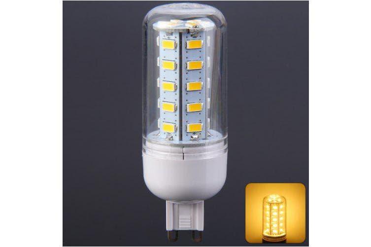 500LM G9 5W SMD 5730 36 LED Lights Clear Corn Bulb ( 3000-3500K 220-240V )- Warm White Light