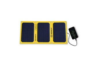 BOSSCAT AY-S021B 21W Outdoor Foldable Solar Panel with USB Port- Yellow China