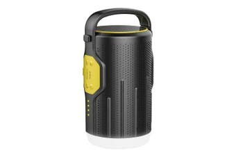BOSSCAT AY10 Outdoor Portable LED Camping Lantern with Bluetooth Speaker 10000mAh Power Bank- Yellow China