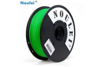Noulei 3D Printer Filament 1KG 1.75mm Colorful plastic 3D Filament Printing Materials for 3D Printer- Green Russia