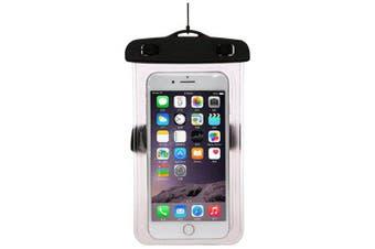 Creative PVC Waterproof Phone Bag- Black 18*10.5*0.1