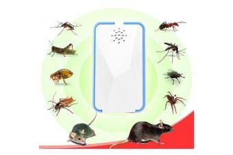 Pest Reject Multipurpose Ultrasonic Pest Repeller- Milk White EURO