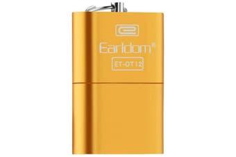 Earldom ET - OT12 USB2.0 Card Reader Micro SD / SDXC / TF Card- Gold