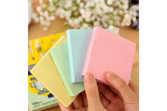 4 Color Post-it Notes Paper- Multi-A