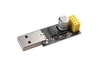 Landa Tianrui LDTR - WG0205 USB to ESP8266 Serial Adapter Wireless WIFI Development Board Transfer Module- Black