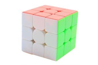 MF8841 3 x 3 Magic Cube Puzzle Toy- Multi-A