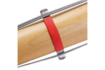 R18 Guitar Bass String Spreader for Cleaning- Red and Silver