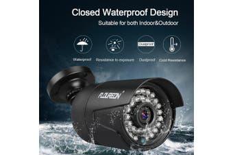 FLOUREON 1080P 2MP 3000TVL NTSC Waterproof Outdoor Camera Night Vision- NTSC China