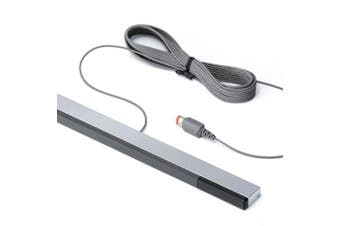 Wired Infrared Ray Sensor Bar Signal Receiver for Nintendo Wii- Silver