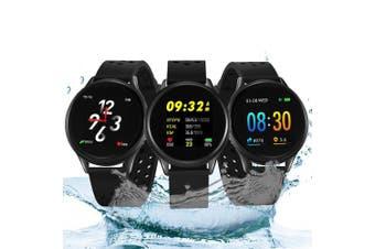 Bilikay SN58 Waterproof Bluetooth Smart Watch Fitness Tracker- Black