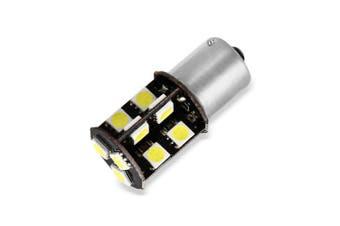 2 x Sencart 4W 1156 P21W Ba15s SMD 5050 19 LEDs Car Bulb ( 220LM Pure White )- Cool White