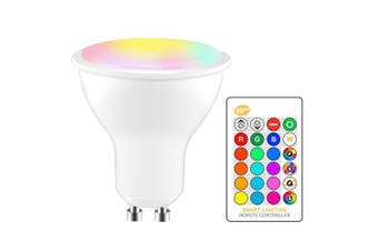OMTO 5W RGBW LED Bulb GU10 Color Changing Atmosphere Lighting LED Lamp- Multi-A RGBW